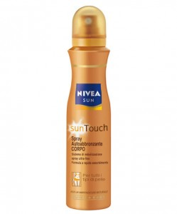 Abbronzatura spray Nivea