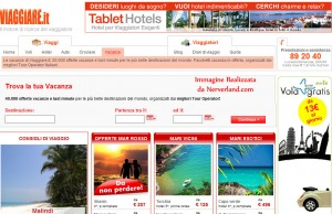Shopping online Viaggiare.it